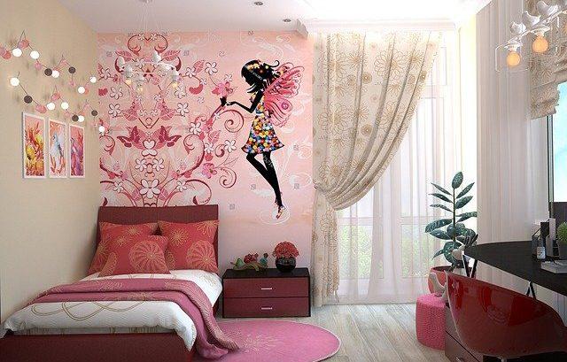 dekoracje do pokoju dziewczynki