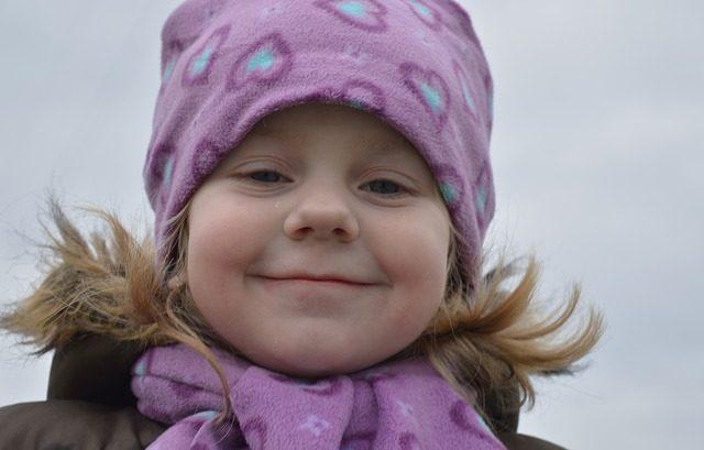 czapka z polaru dla dziecka