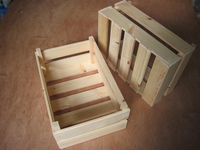 drewniana skrzynka na zabawki wykonanie