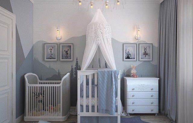 ozdoby pokój niemowlaka